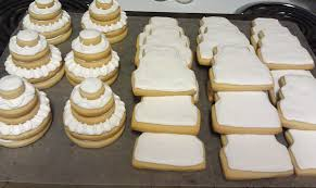 Wedding Cake Cookies Wedding Cake Cookies Krazy In The Kitchen