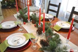 simple christmas table settings christmas table balancing home with megan bray