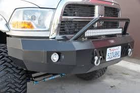 dodge ram push bumper built pod23102 panther winch front bumper without push