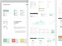 40 great examples of ui style guides web u0026 graphic design bashooka