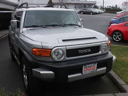 toyota land cruiser certified pre owned certified pre owned toyota fj cruiser in the seattle area magic