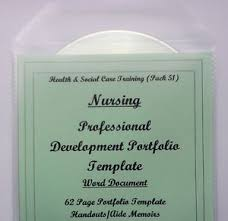 portfolio template word professional development portfolio health and social care