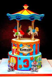 carousel cake topper cakes by carnival carousel birthday cake