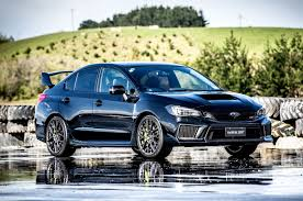 subaru dark blue subaru u0027s next gen wrx wrx sti and levorg shine in the wet