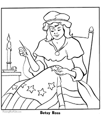 coloring pages american flag american flag
