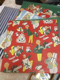 retro christmas wrapping paper cheminee website