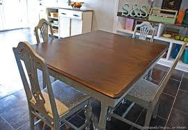Vintage Dining Room Sets Vintage Dining Table Refinishing Tutorial