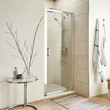 Pacific Shower Doors Premier Pacific Pivot Shower Door Aqpd80 800mm Polished Clear