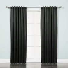 best light blocking curtains amazon com best home fashion thermal insulated blackout curtains