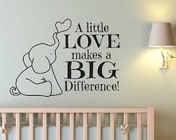 Nursery Decor Wall Stickers Elephant Wall Decals Etsy