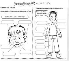 Preschool Worksheet English Worksheet For Kids Printable Loving Kindergarten English