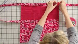 how to sew a duck dynasty apron fat quarter shop youtube