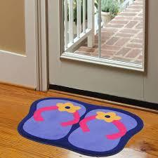 flip flop floor mats bedroom carpet door ground bath household rug