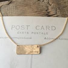 Hand Stamped Necklace Becoming Jewelry Hand Stamped Jewelry Made In Maine