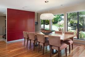 Textured Accent Wall How To Create A Sensational Dining Room With Red Panache