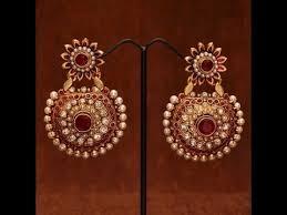 danglers earrings design designs of pearl jhumka earrings and polki danglers