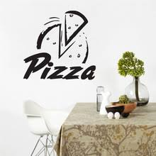 Wall Stickers For Kitchen by Popular Pizza Wall Decals Buy Cheap Pizza Wall Decals Lots From
