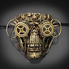 steunk masquerade mask gold steunk masquerade masks usa free shipping
