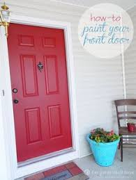 How To Refinish An Exterior Door The Easy Way by How To Paint Doors By Brittany Horton Horton Horton Aka Pretty