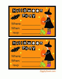 printable kids halloween invitations u2013 fun for christmas