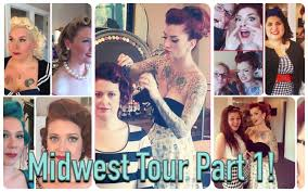 makeup classes in columbus ohio midwest pinup hair and makeup class shoot tour part 1 with cherry