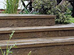 composite landscape timbers composite decking landscaping u0026 garden