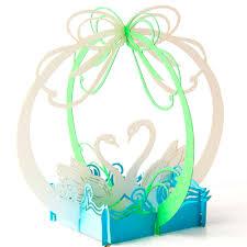 cheap halloween wedding invitations online get cheap swan wedding invitations aliexpress com