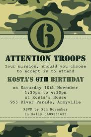 camo army party invitation party time pinterest army party