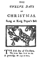 the twelve days of song