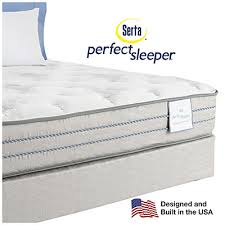 serta perfect sleeper emerson super firm queen mattress u0026 box