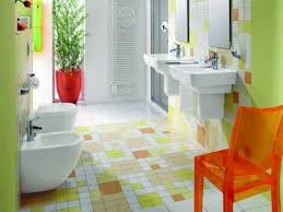 Blue And Orange Bathroom Decor Bathroom Simple Colorful Wall Combine Small Wall Storage Luxury