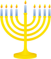 menorah candle golden menorah with lit candles free clip