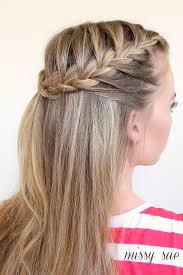 2 braids in front hair down hairstyle long natural hair braid 11 half up french braids