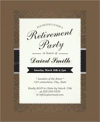 retirement announcement retirement announcement flyer retirement party invitation flyers