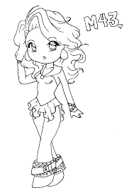 chibi messier 43 coloring page by pandanalove on deviantart