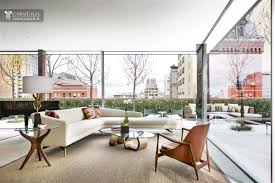 luxury penthouse with terrace and swimming pool for sale in tribeca