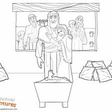 printable bible coloring pages kids free download