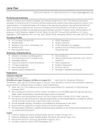 Job Resume Bilingual by Professional Telecommunications Software Engineer Templates To