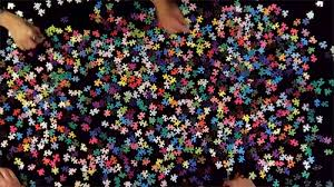 cymk puzzle a 1 000 piece cmyk color gamut jigsaw puzzle by colossal