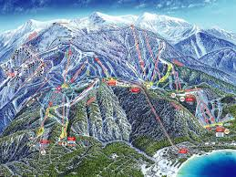 Colorado Ski Map by Heavenly Ski Area Review Heavenly Mountain Resort