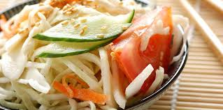 cuisine japonaise facile salade de chou à la japonaise facile et pas cher recette sur