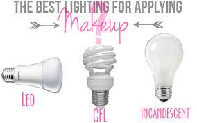 best light bulbs for vanity mirror the best lighting for makeup application pinteres