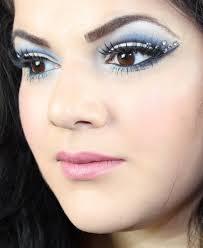 snow queen makeup for halloween youtube