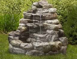 Backyard Fountains Ideas Backyard Contemporary Outdoor Water Fountains Ideas All