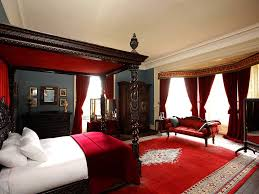Red Bedroom Ideas For Romantic Impression Amazing Home Decor - Red and cream bedroom designs