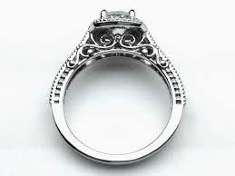 filigree engagement ring engagement ring filigree gallery diamond halo engagement ring es1234