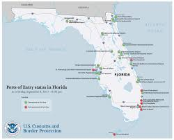 Map Of Florida Airports by Cbp Miami Tampa Field Office Operational Update In Anticipation Of