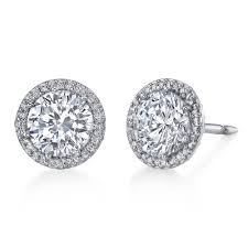 diamond ear studs diamond ear studs at rs 115000 pair diamond stud earring id