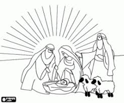 nativity scene coloring pages printable games 2