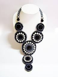 black tie necklace images Black tie affair tuxedo necklace thai fashion jewelry JPG